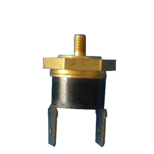 KSD bimetal thermostat with hexagonal shape copper cap