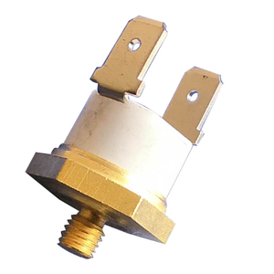 KSD301 bimetal thermostat with hexagonal shape copper cap 10A 15A 16A