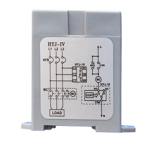 Three phase power supply monitor voltage protection relay